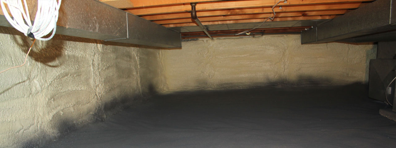 spray foam insulation for crawl spaces