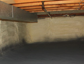 crawl space spray insulation for Alabama